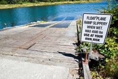 Float plane ramp