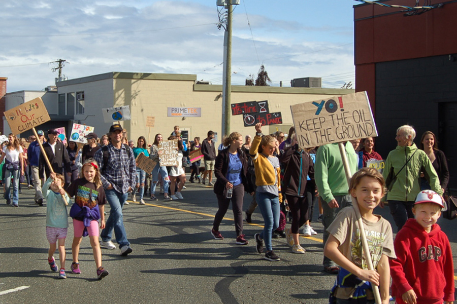 Comox Valley Climate strike